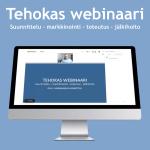 Tehokas webinaari -verkkokoulutus