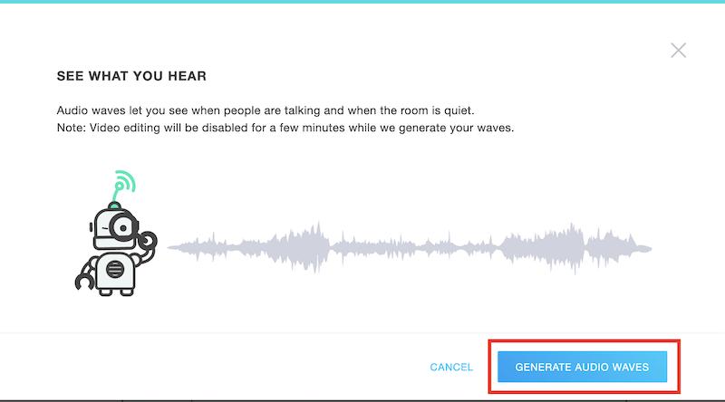 GoToWebinar-videoeditori luo äänikuvaaja